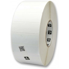 ZEBRA Label RFID Paper 76.2x25.4mm;TT, Z-Perform 1500T,Coated,Perm.Adhesive,2500/roll