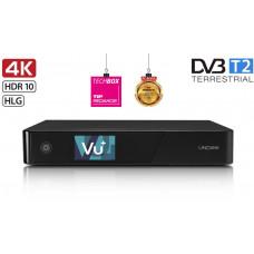 AB COM VU+ UNO 4K SE (1x MTSIF Dual DVB-T2)