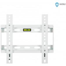 """4WORLD 4W Fixní držák pro LCD 14-29"""" SLIM nosn. 75kg WHT"""