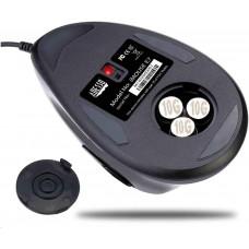 Spire ADESSO herní myš iMouse E7, vertikální, optická, pro leváky, černá
