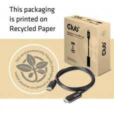 Club 3D Club3D Adaptér aktivní DisplayPort 1.4 na HDMI 2.0b (M/M), 2m