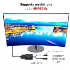 Club 3D Club3D Adaptér aktivní DisplayPort na Dual Link DVI-D, USB napájení, 60cm, HDCP ON
