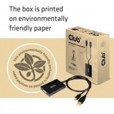 Club 3D Club3D Adaptér aktivní Mini DisplayPort 1.2 na Dual Link DVI-D Active Adapter, 4k30Hz, 60cm
