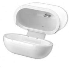 4smarts bezdrátové nabíjecí pouzdro pro Apple AirPods, bílá