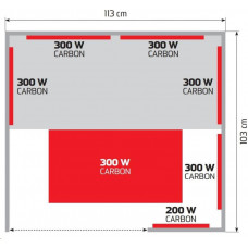 Marimex infrasauna Elegant 3001 L