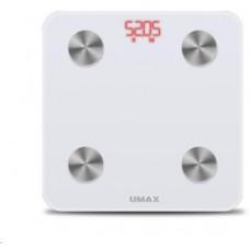 UMAX váha Smart Scale US20M chytrá osobní váha - bluetooth, maximální zátěž 150kg