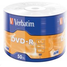 Verbatim DVD-R (50-Pack) 16x WRAP 4.7GB MATT