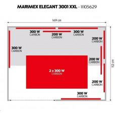 Marimex infrasauna Elegant 3001 XXL