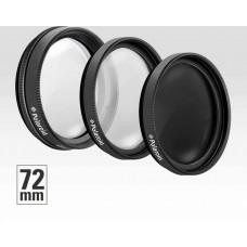 Polaroid Filter Kit 72Mm UV MC, CPL, ND9