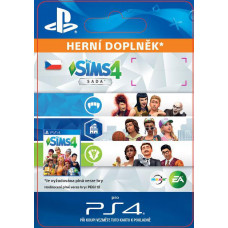 ESD CZ PS4 - The Sims 4 Bundle