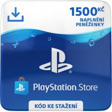 SONY ESD ESD CZ - PlayStation Store el. peněženka - 1500 Kč
