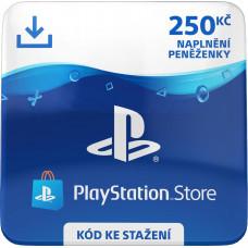 ESD CZ - PLAYSTATION STORE - DÁRKOVA KARTA 250KČ