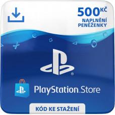 ESD CZ - PLAYSTATION STORE - DÁRKOVA KARTA 500KČ