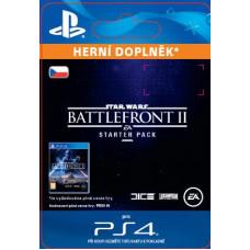 SONY ESD ESD CZ PS4 - STAR WARS Battlefront II Starter Pack (Av. 14.11.2017)