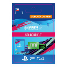 ESD CZ PS4 - 500 FIFA 19 Points Pack