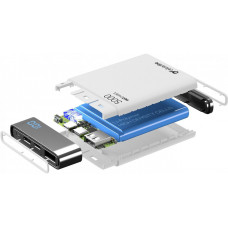 CELLULARLINE PB Cellularline Manta HD,5000 mAh,USB-C, bílá
