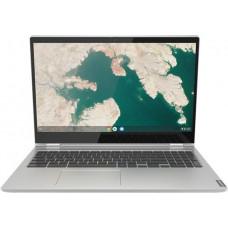 LENOVO Chromebook C340-15 Pentium Gold 4417U Stříbrná/ šedá