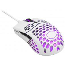 Cooler Master LightMouse MM711, herní myš, optická, 16000 DPI, RGB, matná bílá