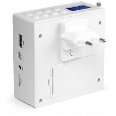Technaxx přenosný reproduktor MusicMan, DAB+/FM, Bluetooth, AUX–IN, 800mAh, bílý (BT-X51)