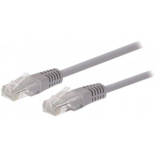 C-TECH Kabel C-TECH patchcord Cat5e, UTP, šedý, 10m