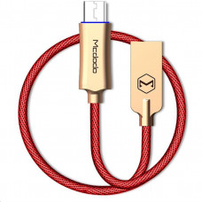 Mcdodo Knight Series Auto Disconnect Micro USB Data Cable with Quick Charge 1m Red