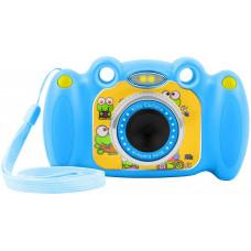 NATEC Digitální fotoaparát pro děti Ugo Froggy, modrý, 1,3mpx, video Full HD 1080px, 2