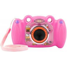 NATEC Digitální fotoaparát pro děti Ugo Froggy, růžový, 1,3mpx, video Full HD 1080 px, 2