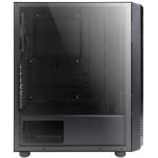 ZALMAN case Zalman miditower S4, ATX/mATX/Mini-ITX, bez zdroje, 2×ventilátor, 1×USB3.0, černá