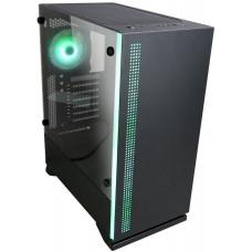 ZALMAN case Zalman miditower S5 Black, ATX/mATX/Mini-ITX, bez zdroje, 1×RGB ventilátor, USB3.0