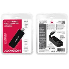 AXAGON ADE-XR, USB2.0 - externí Fast Ethernet adaptér, auto install