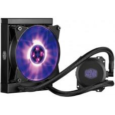 COOLER MASTER vodní chladič Cooler Master MasterLiquid ML120L RGB, univ. socket, 240mm PWM fan