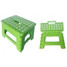 stolička skládací 28,5x21x22cm PP mix barev