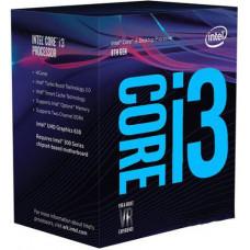 INTEL CPU Core i3-8100 BOX (3.6GHz, LGA1151)