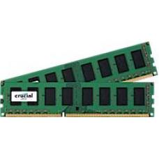 CRUCIAL 16GB DDR3L - 1600 MHz Crucial CL11 UDIMM kit 1.35V/1.5V, 2x8GB