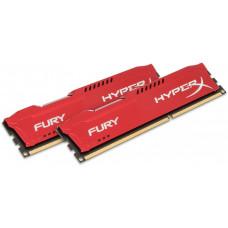 HYPERX 16GB DDR3-1333MHz Kingston HyperX Fury Red, 2x8GB