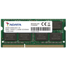 ADATA SO-DIMM 4GB DDR3 1600MHz CL11 ADATA SRx16