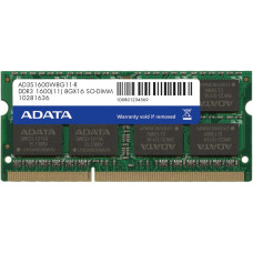 ADATA SO-DIMM 8GB DDR3 1600MHz CL11 ADATA