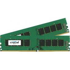 CRUCIAL 16GB DDR4 - 2400 MHz Crucial CL17 DR x8 DIMM kit, 2x8GB