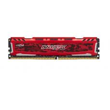 CRUCIAL 16GB DDR4 2400MHz Crucial Ballistix Sport LT CL16 DR Red