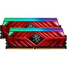 ADATA 16GB DDR4-2666MHz ADATA XPG D41 RGB CL16, 2x8GB red