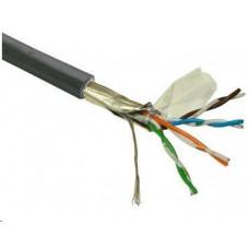 Planet FTP kabel PlanetElite, Cat5E, drát, venkovní PE, černý, 305m