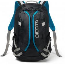 DICOTA Backpack Active XL 15-17.3 black/blue