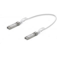 Ubiquiti UBNT UC-DAC-SFP+, Direct Attach Cable Patch Cable, SFP/SFP+DAC, 1G/10G, bílý, 0,5m