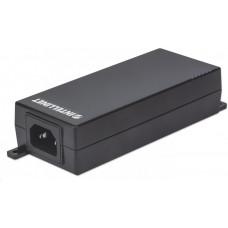 Intellinet 1-port PoE+ Gigabit Power over Ethernet Injector, 1x 30W, 802.3af/at