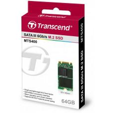 Transcend Industrial SSD MTS400 64GB, M.2 2242, SATA III 6Gb/s, MLC