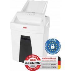 HSM skartovač Securio AF100 (řez: Kombinovaný 4x25mm   vstup: 225mm   DIN: P-4 (3)   papír, sponky