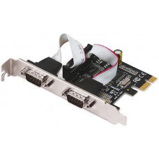 I-TEC PCI-Express karta 2x Serial RS232, vč. low profile rámečku