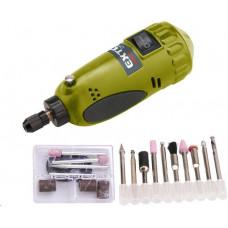 Extol Craft mini vrtačka/bruska s transformátorem v kufříku 404121