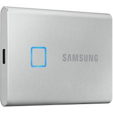 SAMSUNG SSD 1TB Samsung externí T7 Touch, stříbrný