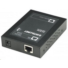 Intellinet 1-port PoE+ Power over Ethernet Splitter, 802.3at/af